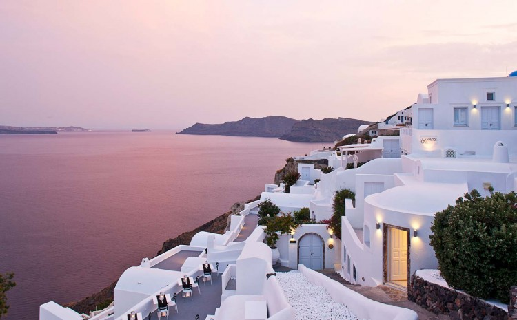 Canaves Oia Santorini Hotel – Greece