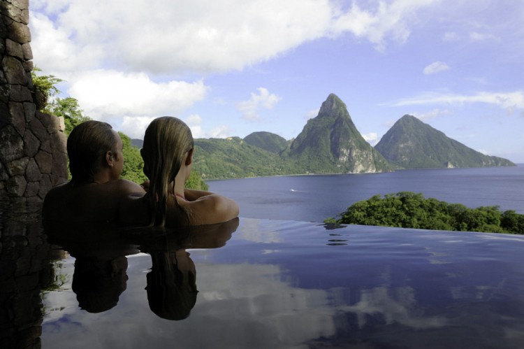 Jade Mountain – Saint Lucia, Caribbean sea