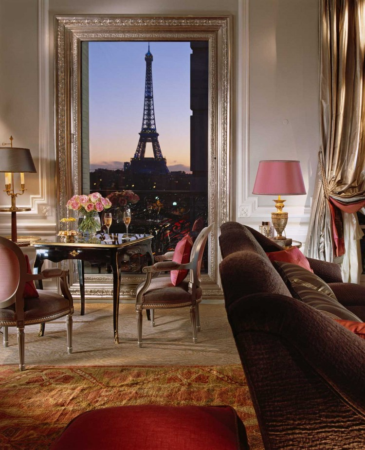 The Eiffel Suite at Hotel Plaza Athenee