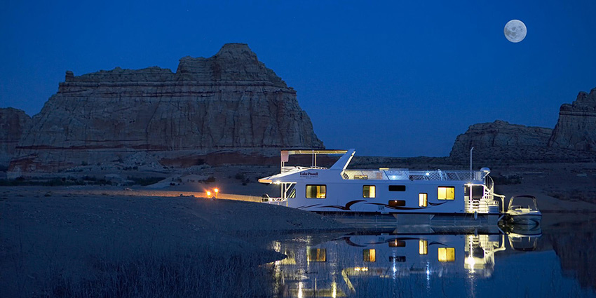 75' Lake Powell Houseboat