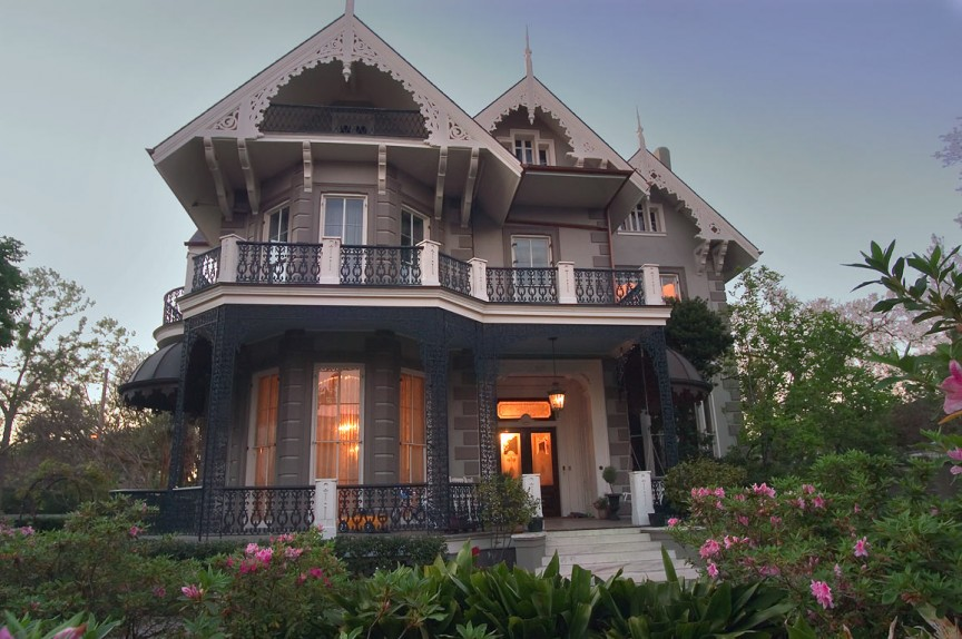 Sandra Bullock- New Orleans Gothic Mansion