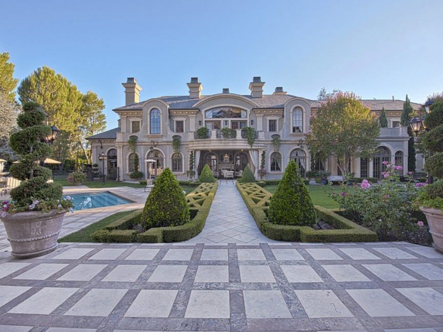 Sylvester Stallone- Beverly Hills Mansion