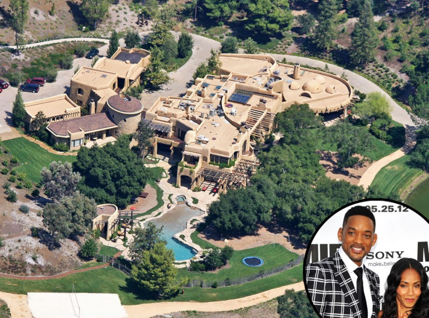 Will Smith e Jada Pinkett-Smith- Calabasas Compound