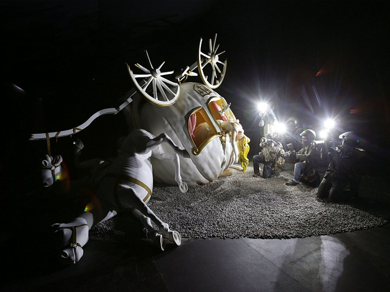 Visitare Dismaland parco in Inghilterra